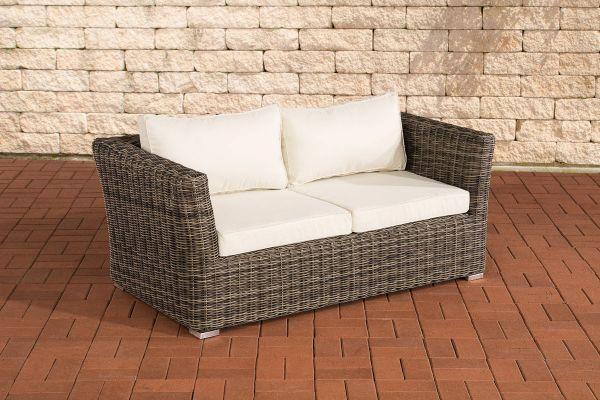 Canapé de jardin 2 places Mandal