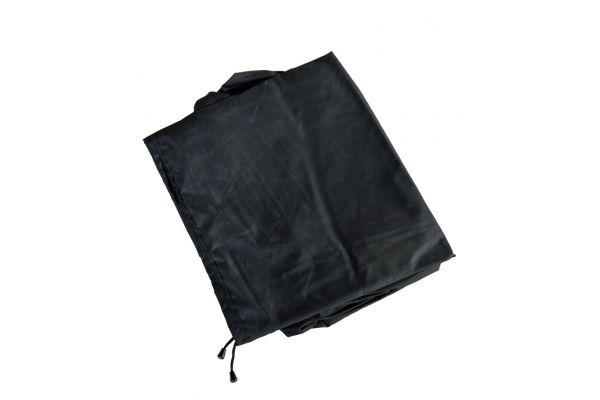 Abdeckhaube 158x108x86, Luxus Auflagenbox XXL schwarz