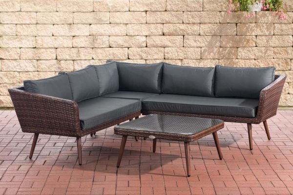 Canapé d'angle SKARA Marron