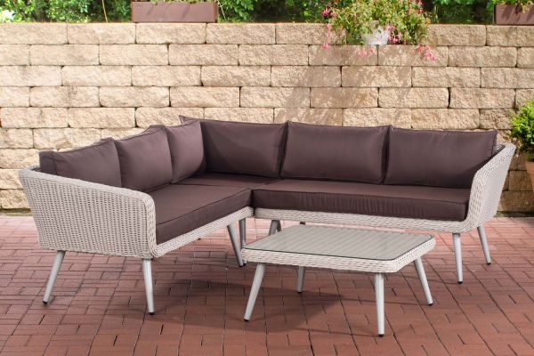 Canapé d'angle Skara 5mm Blanc