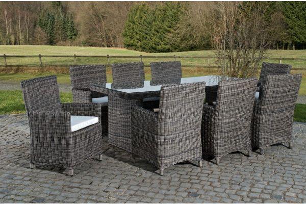 Sitzgruppe Fontana XL Creme grau-meliert