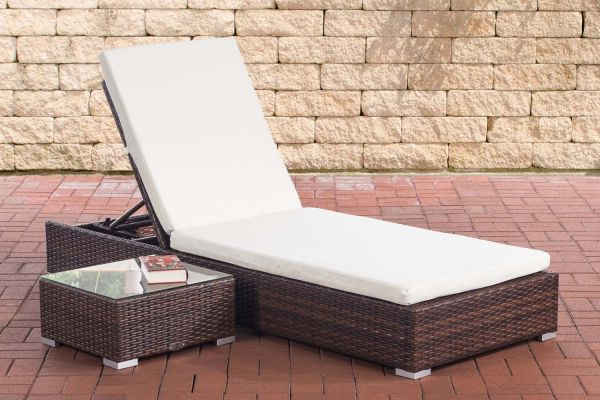 Chaise Longue NADI avec Table Basse
