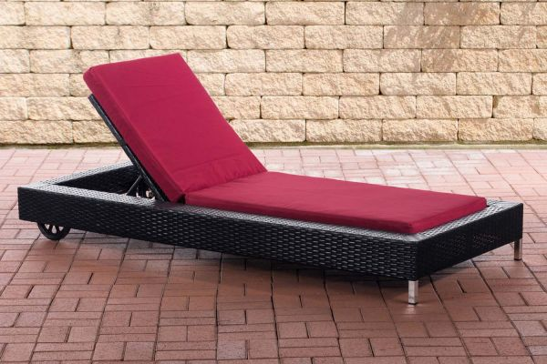 Chaise Longue Rosso