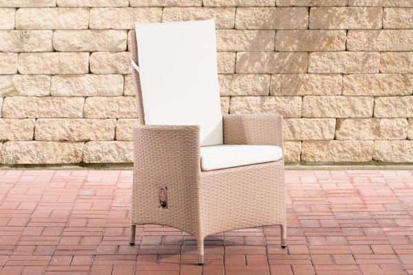 Stuhl Sevilla cremeweiß sand