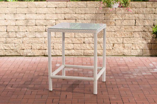 Tisch Alia 5mm  perlweiß