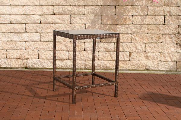 Tisch Alia braun-meliert
