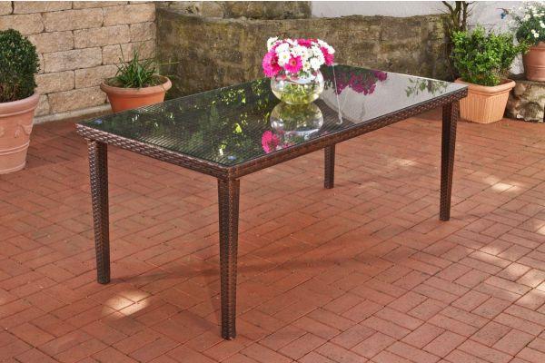 Tisch Florenz BIG braun-meliert