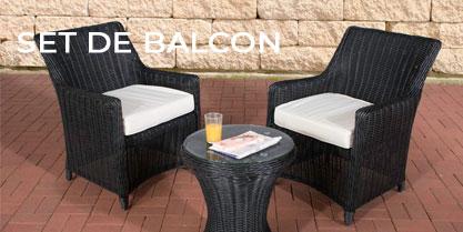 Set de balcon