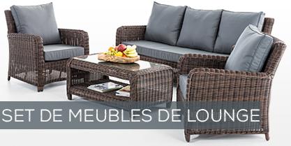 Set de meubles de lounge