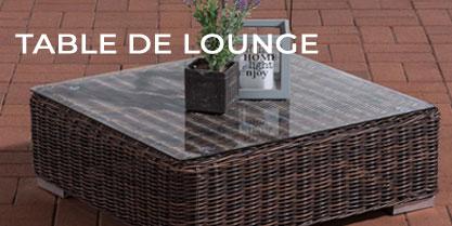 Table de lounge
